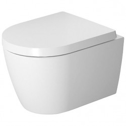 Duravit Me by Starck Hangtoilet Compact Rimless met soft-close zitting