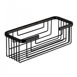 Gedy Zeephouder in roestvrij staal 25,2x10,2x8,6 cm - Zwart