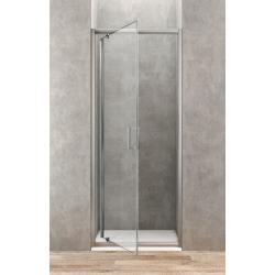 Ponsi Draaideur voor douche van 80 cm