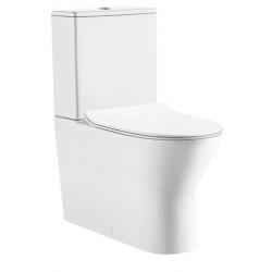 Design Tina Pack wc Staand toilet porselein met geberit mechanisme - Wit