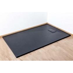 Banio Moba Douchebak SMC 140x90 - Zwart mat
