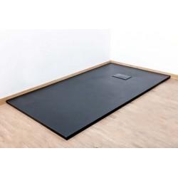 Banio Moba Douchebak SMC 160x90 - Zwart mat
