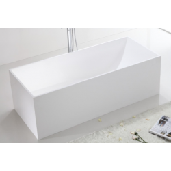 Banio Larra bad solid surface 170x72 cm - Wit