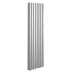 Banio ovaal verticaal design radiator 180x60cm 2295w wit