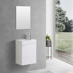 Banio WC meubel compleet wit
