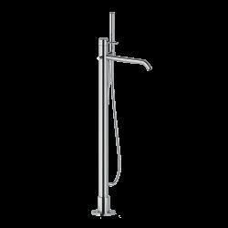 Ponsi vrijstaand badmengkraan voor vrijstaand bad - chroom