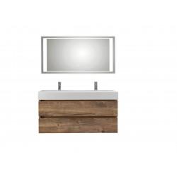 Pelipal badkamermeubel met luxe spiegel Bali120 - ribbeck eiken