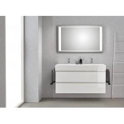 Pelipal badkamermeubel met luxe spiegel Bali120 - wit