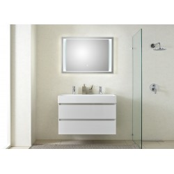 Pelipal badkamermeubel met luxe spiegel Bali101 - wit