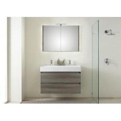 Pelipal badkamermeubel met luxe spiegel Bali101 - grafiet
