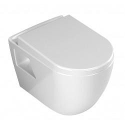 Banio design hangtoilet met sproeier en soft-close zitting - wit