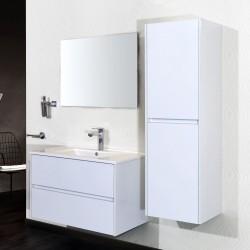 Banio badkamermeubel met spiegel Hayat 80cm - wit