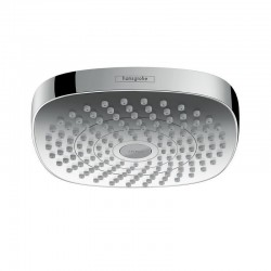Hansgrohe Croma Select E 180 2jet Overhead Shower EcoSmart chrome