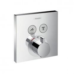 Hansgrohe ShowerSelect Thermostaat voor wandinbouw en voor 2 systemen